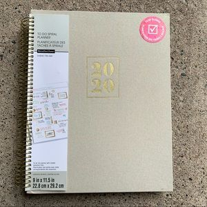 Recollections 2020-2021 Planner Linen Undated
